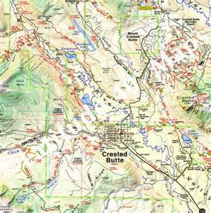crested butte park trails latitude 40 maps