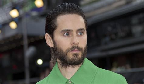 jared leto is right good riddance to the man bun and the actor jared leto poses for photographers at the european