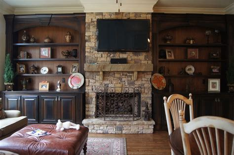 Kitchen Cabinet Refinishing Atlanta bookcases and fireplace mantels traditional family