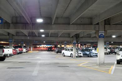 Atlanta Airport Section by A Walk In The Park Leds In Parking Garages Ec Mag