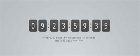 jquery tutorial timer 25 best free jquery countdown timer scripts