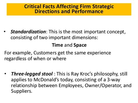 mc donald s strategic management by adrian magopet