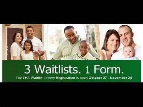 cha section 8 waiting list cha wait list registration process sign up starting