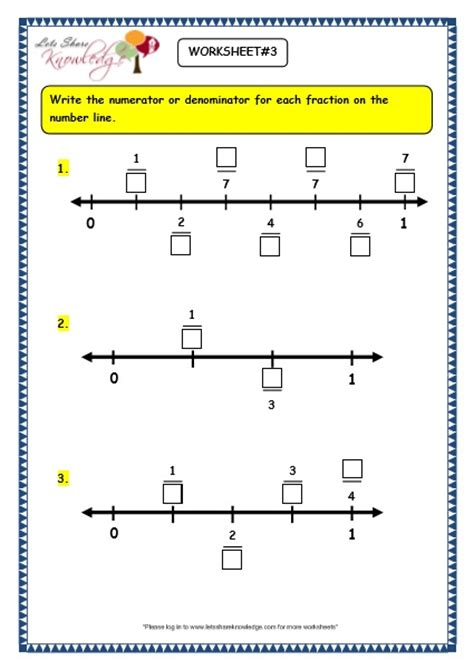 Fractions On A Number Line Worksheet by All Worksheets 187 Fraction Line Worksheets Printable