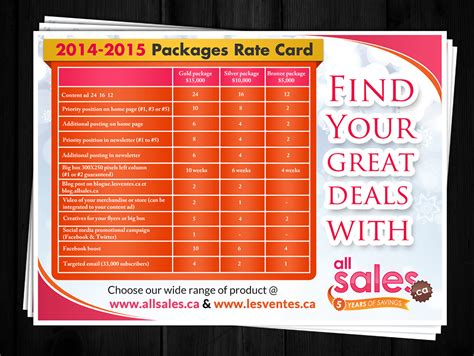 Rate Card Template Psd by Card Design Rate Gallery Card Design And Card Template