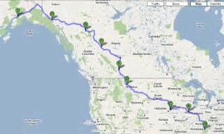 alaska canada highway map let the traveling begin alaska