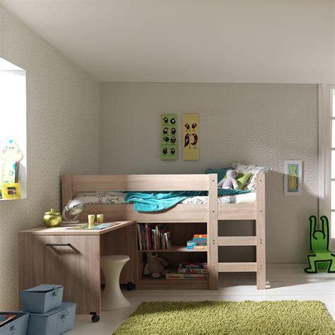 lit mezzanine avec armoire intégrée lit sur 233 lev 233 avec bureau mundu fr