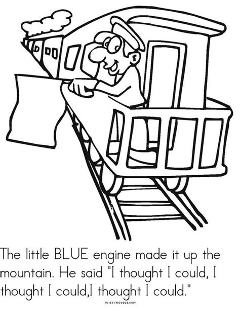 The Little Engine That Could Book - Twisty Noodle