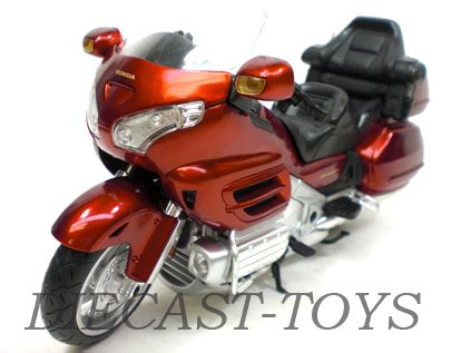 new ray 57253 honda goldwing gl 1800 motorcycle 1/12 red