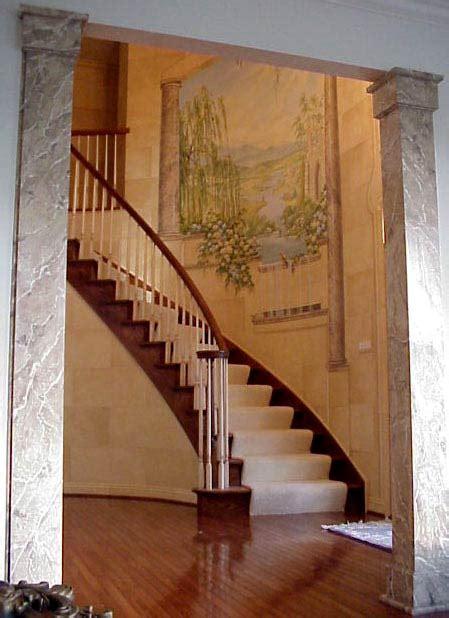 foyer mural pine studios gt foyer with stairwell mural foyer