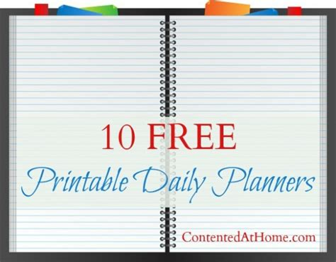 daily planner 2014 christian art publishers 10 free printable daily planners free homeschool deals