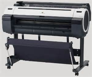 Canon Plotter Ipf825 5 Color canon cad plotters and printers