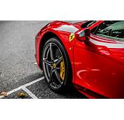 Download 3840x2400 Wallpaper Red Supercar Ferrari Wheel