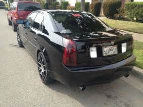 What Type Of Gas Does A Cadillac Cts Use Find Used 2006 Cadillac Cts Black On Black Sedan 4 Door 3