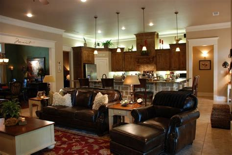 Open Concept Living Room Kitchen And Dining Room pin by emily valorz on favorite places spaces