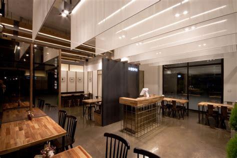 korean cafe design dohyun korean restaurant by twoply jeonju south korea