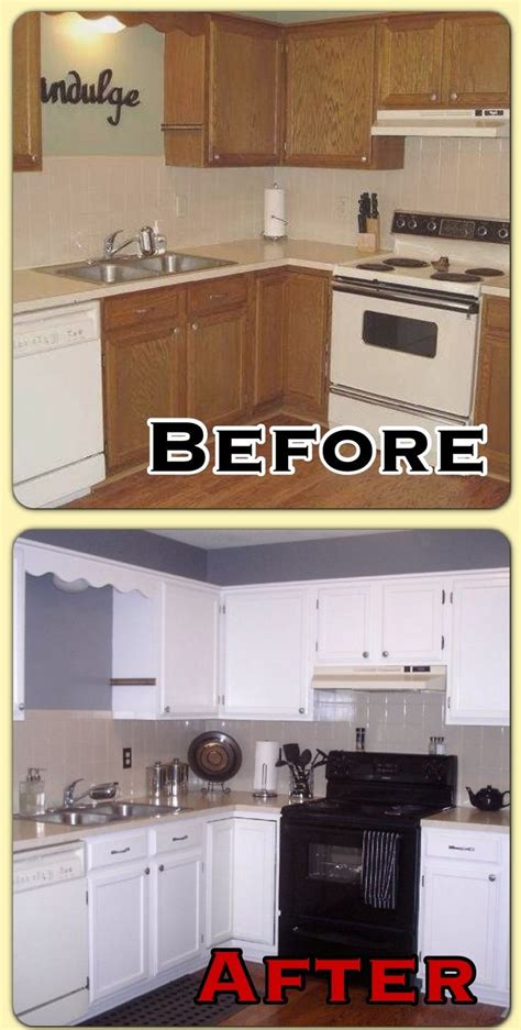 Before After Kitchen Makeovers - before and after kitchen makeover home kitchen pinterest