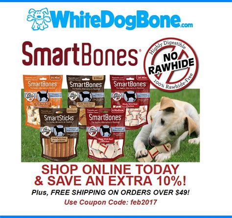 coupon code for white dog bone company