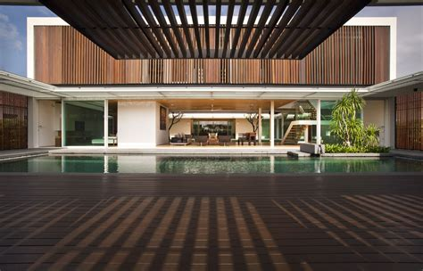 house architecture design enclosed open house by wallflower architecture design