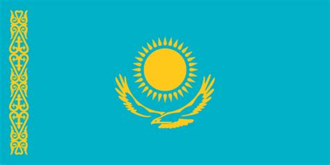 flags of the world kazakhstan kazakhstan flag and description