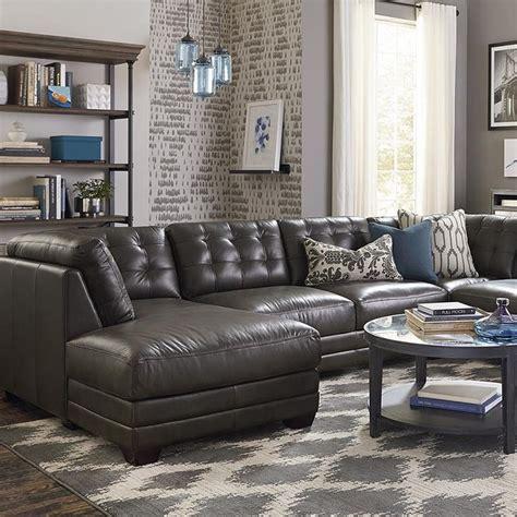 bassett living room furniture u shaped sectional living room