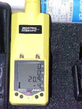 Multi Gas Detector M40 gas monitors gas detection