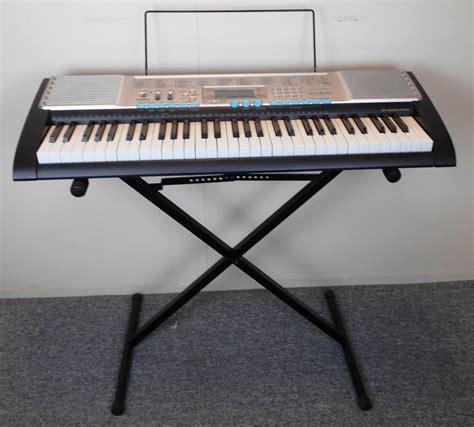 Keyboard Casio Lk 220 casio lk 220 electric keyboard w stand ac adapter documentation 79767313524 ebay
