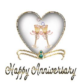 Happy Wedding Anniversary Animated Gif by Happy Anniversary Animated Gifs