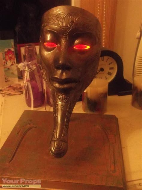 Ra Original stargate ra mask with glowing replica prop