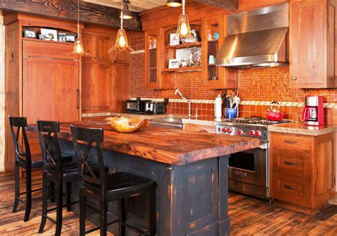 reclaimed wood kitchen island tops home decor best