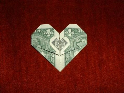 Folding Paper Money Into Shapes - diagram money origami