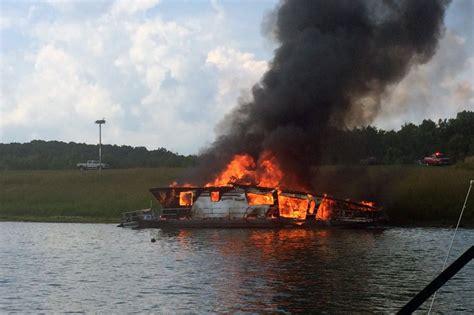 boat repair near patoka lake explosion fire destroys house boat on patoka lake