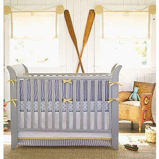 Seersucker Crib Bedding Seersucker Chambray George Collection Serenaandlily Nursery The Baby Blue Nursery