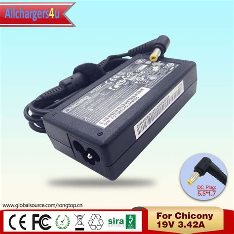 Adaptor Charger Laptop Acer Chicony 19v 3 42a Original 100 chicony laptop charger reviews shopping chicony laptop charger reviews on aliexpress