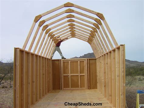 barn style gambrel barn style sheds