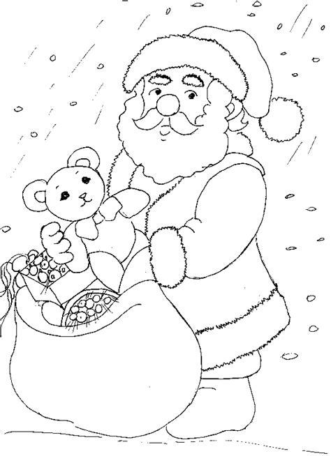 imagenes de santa claus toma tu navidad papa noel para colorear pintar e imprimir