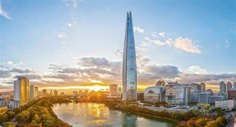 world tower lotte world tower to open april 3rd seoul space startup incubator coworking hub it