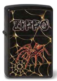 zippo web and spider original feuerzeug bei tabakachermann