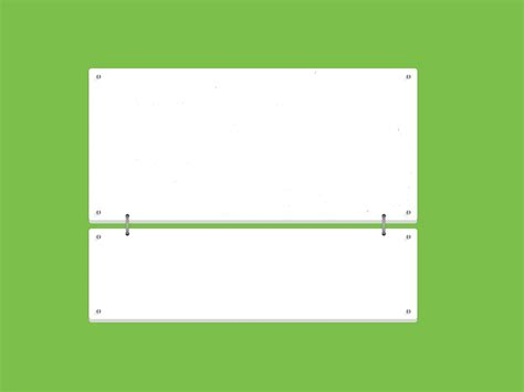 Simple Lander PPT Backgrounds   Green, Powerpoint, White