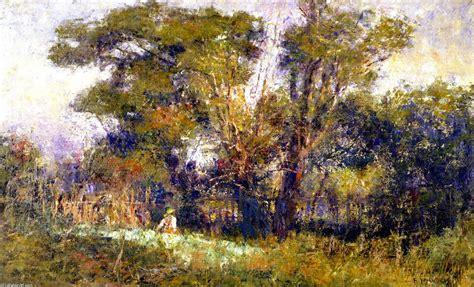 Der Alte Garten Eichendorff Interpretation by Sie Die Alten Garten 246 L An Segeltuch Frederick Mccubbin 1855 1917 Australia
