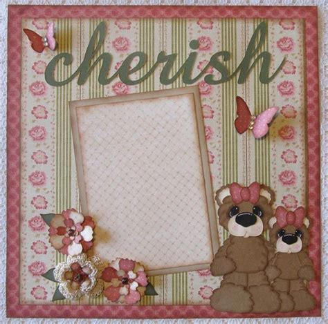 Scrapbook Paper Crafts Ideas - you to see premade scrapbook pages shabby chic