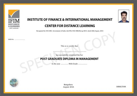 Post Mba Certificate Canada by Correspondence Mba In Logistics And Supply Chain
