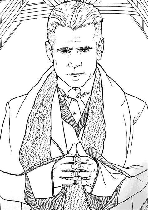 Kids n fun.com   Coloring page Fantastic Beasts and Where