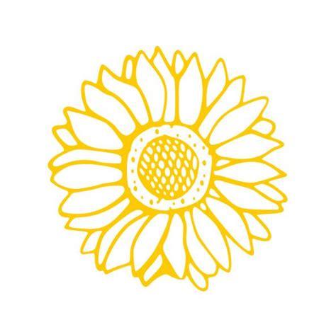 Sunflower Car Sticker sunflower decals flower transfer flower stickers flower