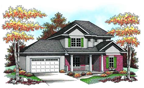 traditional 2 story house plans traditional two story 89698ah architectural designs