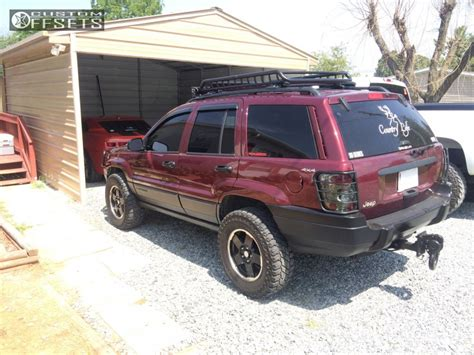 2000 jeep grand black rims wheel offset 2000 jeep grand aggressive 1 outside