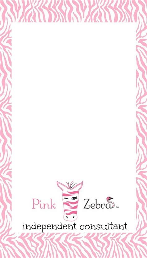 pink zebra business card template free 519 best images about pink zebra on pink zebra