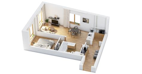 home layout ideas 40 more 1 bedroom home floor plans