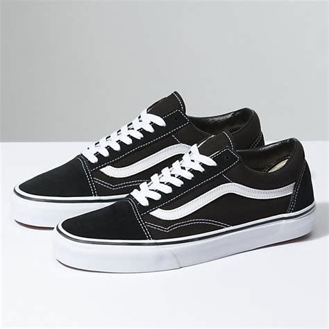 Sepatu Vans Oldskool Black White 3 skool shop shoes at vans