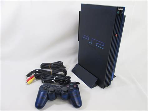 Ps2 No Hardisk ps2 console system scph 50000 midnight blue disk drive playstation 2 1015 ebay